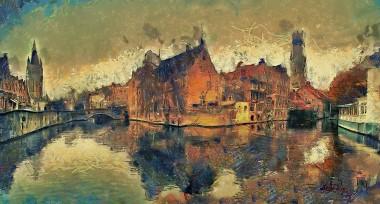 Rozenhoedkai, Bruges