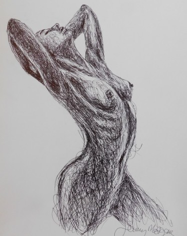 #nude #erotic #figure #drawing #study #