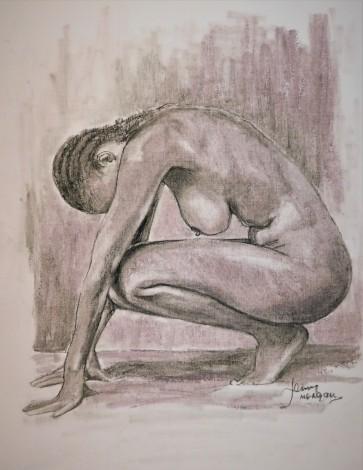 #nude #erotic #figure #study #woman #nakedpose #sketch