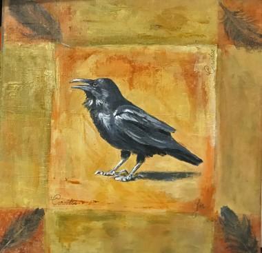 Vintage crow