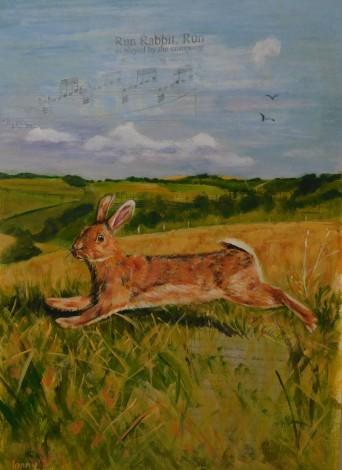 #rabbit #hare #countryside #wildlife #fields #landscape