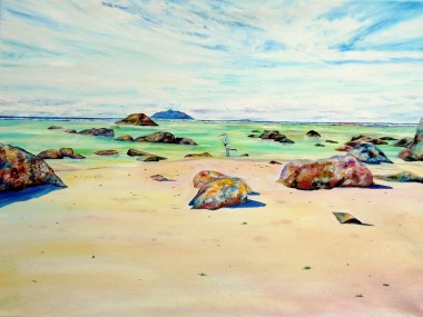 seychelles beach art