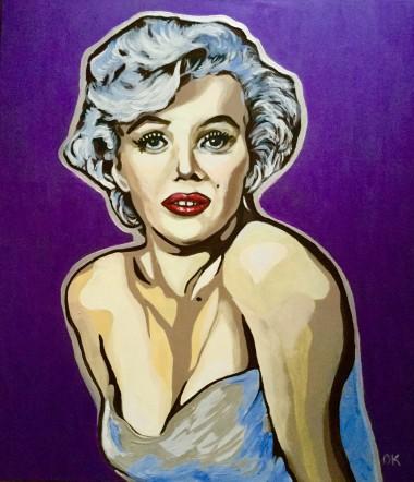 Marilyn Monroe. Goddess of Hollywood