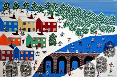 Winters village