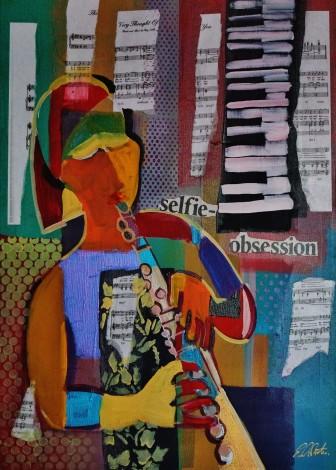 Expresstionist Cubist Selfie-Obsession 854