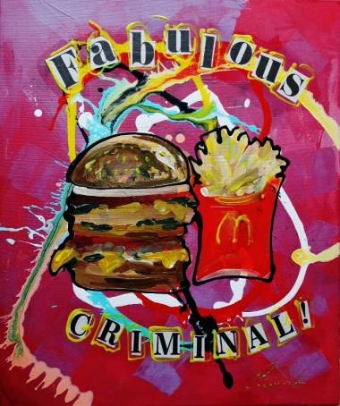 Fabulous Criminal! pop-Clip Art 0121
