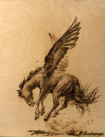Творчество, Пегас, лошадь, крылья