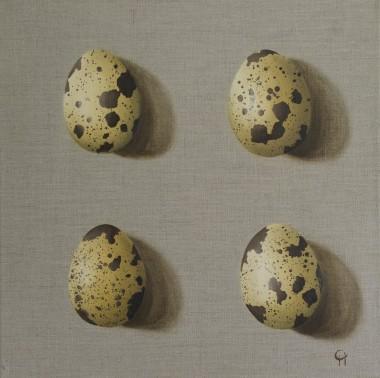 Four Quail Eggs