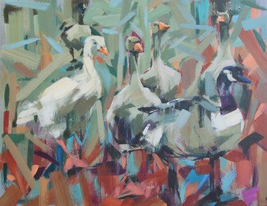 Geese in Mistley