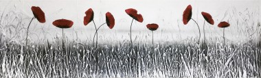 Iced Poppies