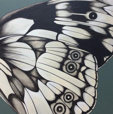 Modern butterfly art