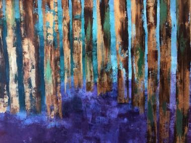Bluebell woods isolation 3