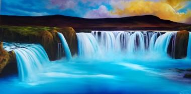 Godofoss waterfalls Iceland