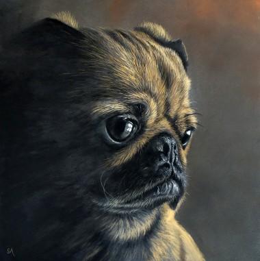 Pug Portrait II