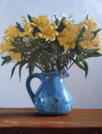 Yellow Astromelias 1