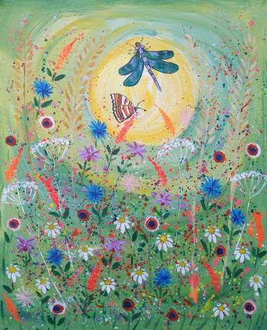The Dragonfly in the Joyful Garden