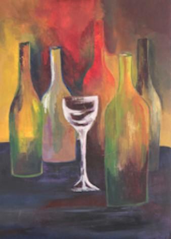 5  Bottles & 1 Glass