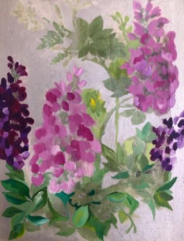 vintage hyacinths