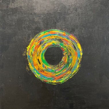 Spin 2 abstract painting