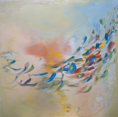 Rite of Spring abstract painting
