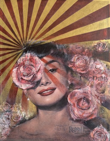 Audrey Hepburn Tinted Rose