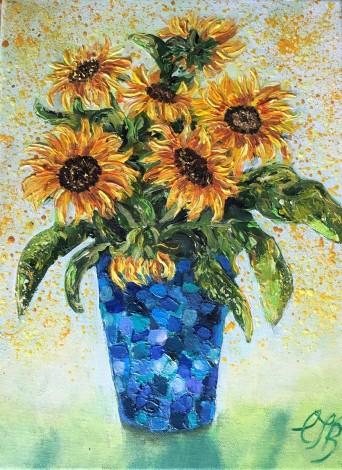 Main image Yellow Sunflowers