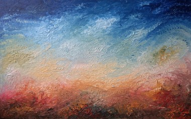 Into the Great Wide Yonder | Oil on canvas | 122 x 76 cm