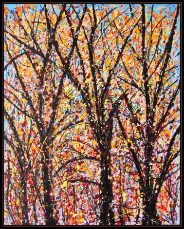 Golden Autumn Forest
