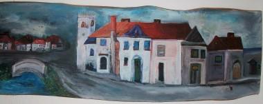 The village in Norfolk.