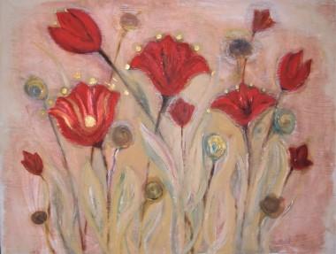 Tulips fresco.
