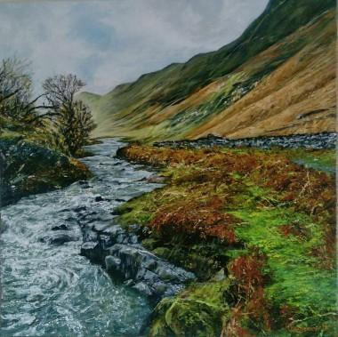 Lake District. Acrylics