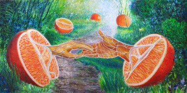 The story of two halves of an orange