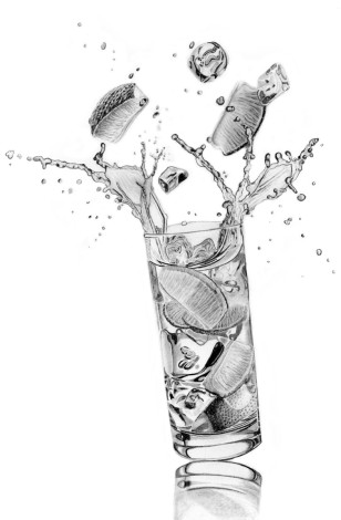 Vodka Tonic Splash