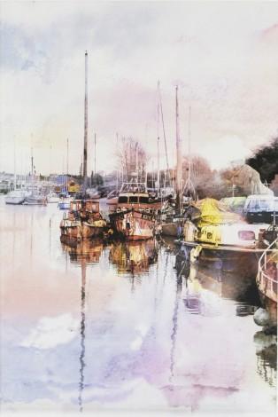Lydney Marina Unframed