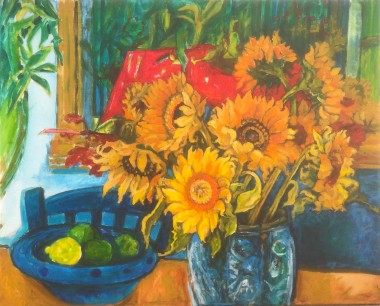 Sunflowers Lemon and Limes