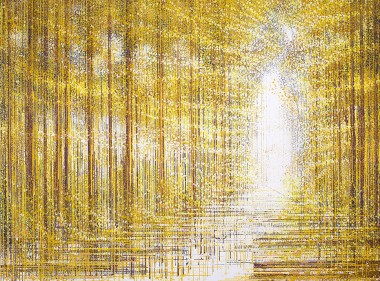 Autumn Trees Composition #3