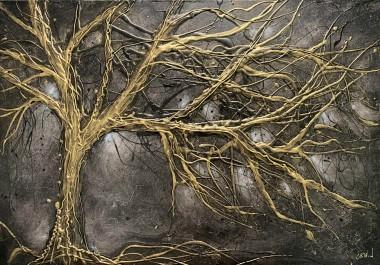 Midnight Gold Tree