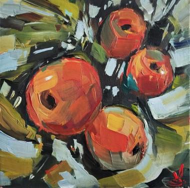 Orange Peaches