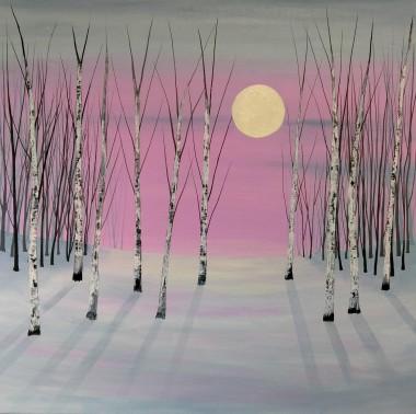 pale moon rising