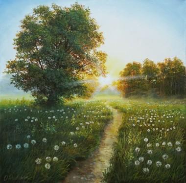 Path to the Sun Landscape