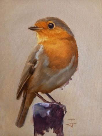 The Robin (Portrait)