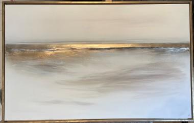 Gold Coastline & Gold Frame