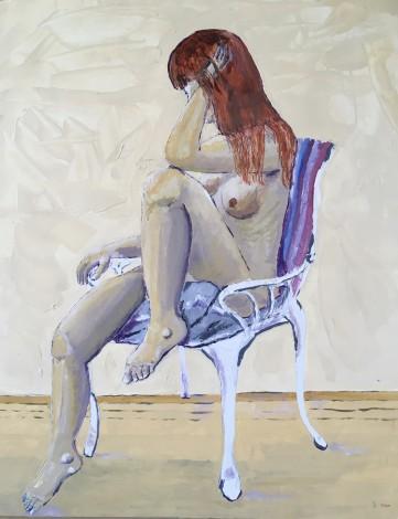 Seated  Nude main image