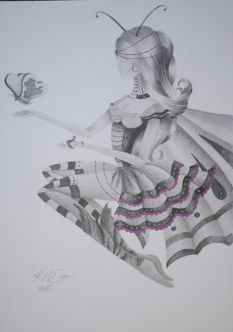 Spread your Wings my Little one - drawing