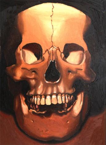 Skull study No 6