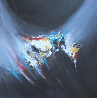 contemporary abstract, canvas