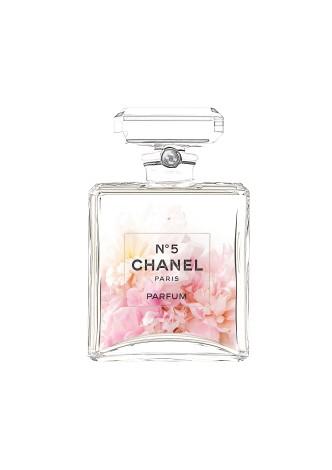 Peony Chanel bottle