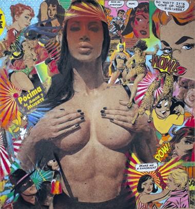 Spanish pop art
