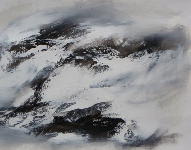 Abstraction in Monochrome study 22