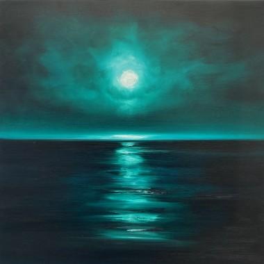 The Moon was Shining Green